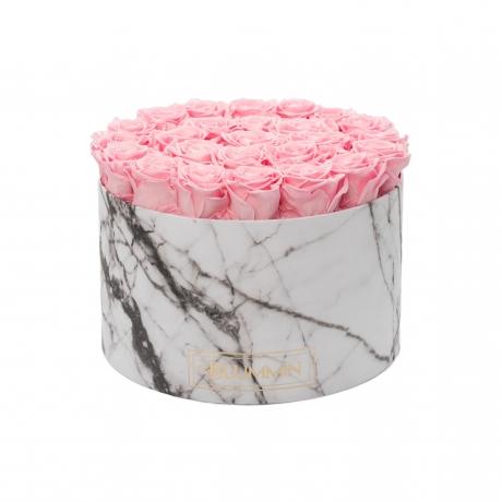 XL MARMOR KOLLEKTSIOON - valge karp BRIDAL PINK uinuvate roosidega.jpg