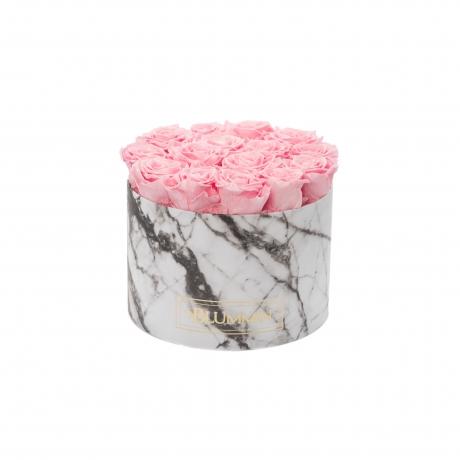 LARGE MARMOR KOLLEKTSIOON - valge karp BRIDAL PINK uinuvate roosidega.jpg