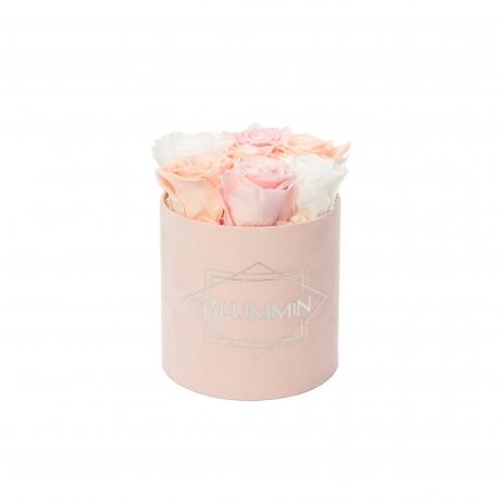 uinuvad roosid heleroosa sametkarp 7 roosi.jpg