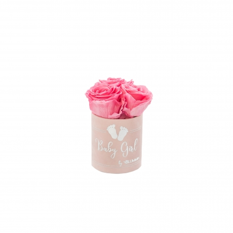 BABY GIRL - HELEROOSA sametkarp BABY PINK roosidega (XS - 3 roosiga).jpg