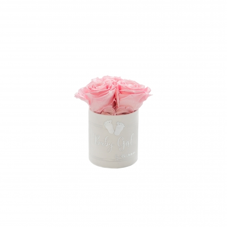 BABY GIRL - VALGE sametkarp BRIDAL PINK uinuvate roosidega (XS - 3 roosiga).jpg
