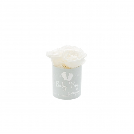 BABY BOY - helesinine sametkarp WHITE roosidega (3 roosiga).jpg