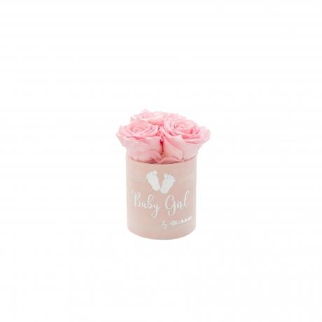 BABY GIRL - HELEROOSA sametkarp BRIDAL PINK roosidega (XS - 3 roosiga).jpg