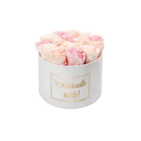 LARGE valge sametkarp MIX (PEACHY PINK; ICE PINK; BRIDAL PINK) roosid.jpg