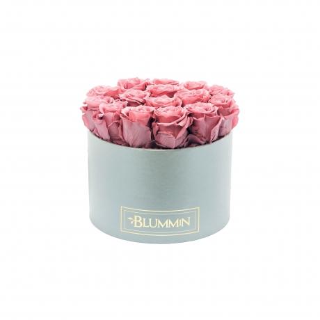 LARGE helehall karp VINTAGE PINK uinuvad roosid5.jpg