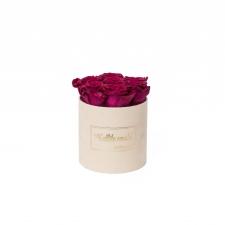 "SMALL ""KALLILE EMALE"" - nude sametkarp CHERRY roosidega"