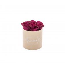 SMALL BLUMMiN - nude sametkarp CHERRY roosidega