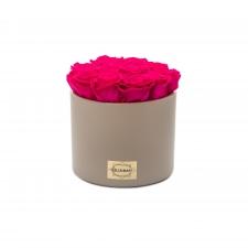 Beez keraamiline pott 13 HOT PINK uinuva roosiga