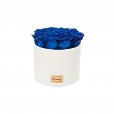 VALGE keraamiline pott 13 OCEAN BLUE uinuva roosiga