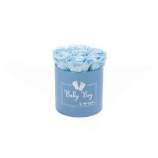 BABY BOY - sinine karp BABY BLUE roosidega (7 roosiga)