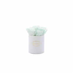XS BLUMMIN - WHITE BOX WITH MINT ROSES
