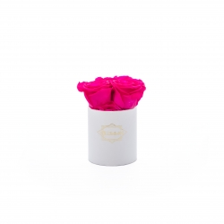 XS BLUMMIN - WHITE BOX WITH HOT PINK ROSES