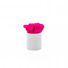 XS BLUMMiN - VALGE karp HOT PINK roosidega