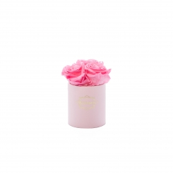 XS BLUMMIN - LIGHT PINK BOX WITH BABY PINK ROSES