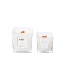 Белая свеча из соевого воска BLUMMIN HOME Nr. 1