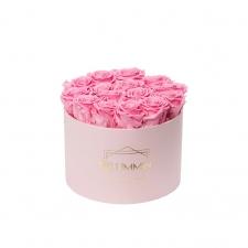 LARGE BLUMMiN - heleroosa karp BABY PINK roosidega