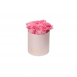 BLUMMIN MIDI LIGHT PINK BOX WITH  BABY PINK ROSES
