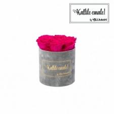 KALLILE EMALE SMALL - HELEHALL SAMETKARP HOT PINK ROOSIDEGA