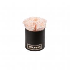 MIDI BLACK BOX WITH ICE PINK ROSES