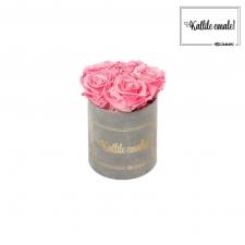 KALLILE EMALE - MIDI HELEHALL SAMETKARP  CANDY PINK ROOSIDEGA