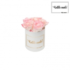 KALLILE EMALE - MIDI VALGE KARP LOVELY PINK ROOSIDEGA