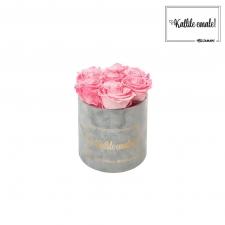 KALLILE EMALE - SMALL HELEHALL SAMETKARP CANDY PINK ROOSIDEGA