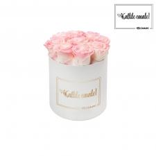 KALLILE EMALE - MEDIUM VALGE KARP LOVELY PINK ROOSIDEGA