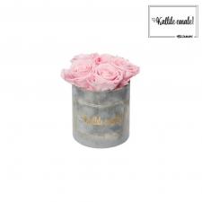 KALLILE EMALE - MIDI HELEHALL SAMETKARP  BRIDAL PINK ROOSIDEGA