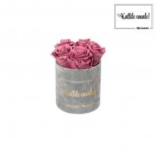 KALLILE EMALE - MIDI HELEHALL SAMETKARP  VINTAGE PINK ROOSIDEGA