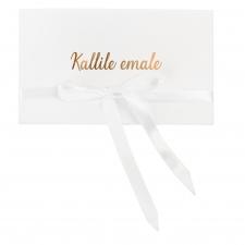 KALLILE EMALE - VALGE SAMETIST KAART
