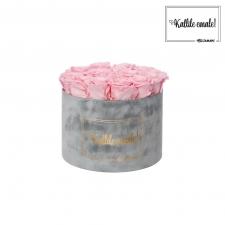 KALLILE EMALE - LARGE (17 ROOSIGA) HELEHALL SAMETKARP BRIDAL PINK ROOSIDEGA