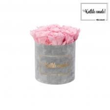 KALLILE EMALE - MEDIUM HELEHALL SAMETKARP BRIDAL PINK ROOSIDEGA