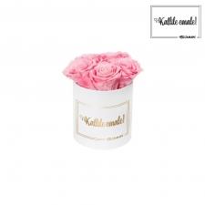 KALLILE EMALE - MIDI VALGE KARP BABY PINK ROOSIDEGA