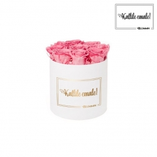 KALLILE EMALE - MEDIUM VALGE KARP BABY PINK ROOSIDEGA