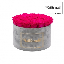 KALLILE EMALE - EXTRA LARGE HELEHALL SAMETKARP HOT PINK ROOSIDEGA