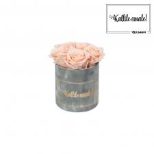 KALLILE EMALE - MIDI HELEHALL SAMETKARP  PEACHY PINK ROOSIDEGA