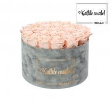 KALLILE EMALE - EXTRA LARGE HELEHALL SAMETKARP PEACHY PINK ROOSIDEGA
