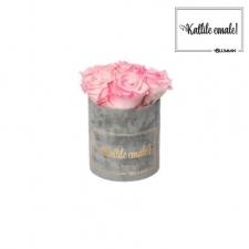 KALLILE EMALE - MIDI HELEHALL SAMETKARP  LOVELY PINK ROOSIDEGA