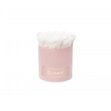 SMALL BLUMMiN - heleroosa karp WHITE roosidega