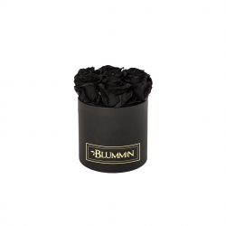 SMALL BLUMMiN - BLACK BOX WITH BLACK ROSES