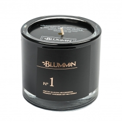 BLUMMiN BLACK SCENTED SOY WAX CANDLE 200g - Nr 1