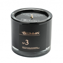 BLUMMiN BLACK SCENTED SOY WAX CANDLE 200g - Nr 3