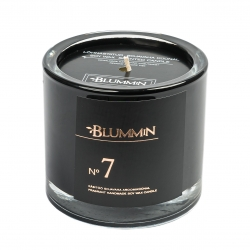 BLUMMiN BLACK SCENTED SOY WAX CANDLE 200g - Nr 7
