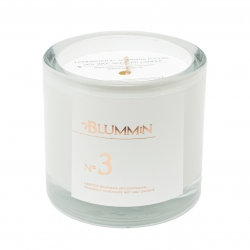 BLUMMiN WHITE SCENTED SOY WAX CANDLE 200g - Nr 3