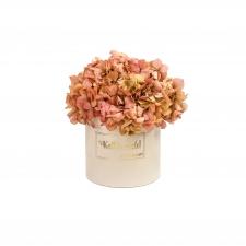 KALLILE EMALE - nude sametkarp stabiliseeritud hortensiaga